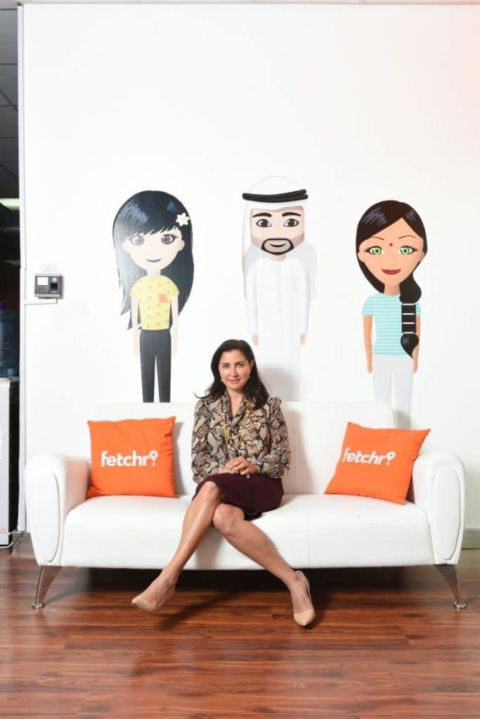 جوي عجلوني مديرة التسويق في فيتشر غادرتها في 2019